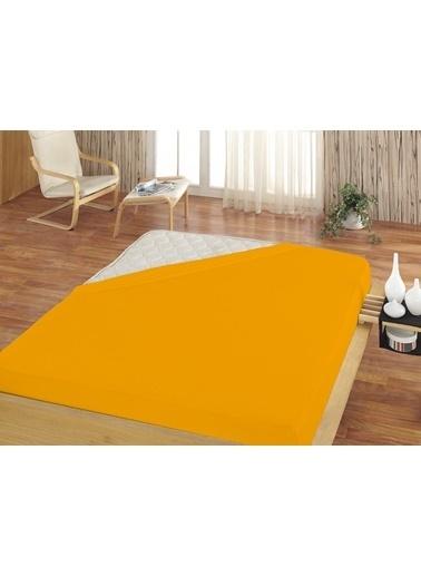 Komfort Home Tek Kişilik Penye Lastikli Çarşaf 100x200 CM Renkli
